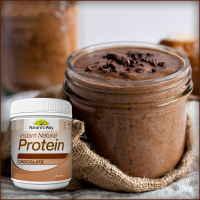 Natures Way Instant Natural Protein Coklat 375 Gr Protein Shake