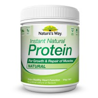 Natures Way Instant Natural Protein Natural 375 Gr Protein Shake
