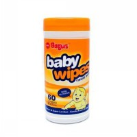 Bagus Baby Wipes [60 Sheets]