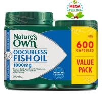 Nature's Own Odourless Fish Oil 1000 mg - 600 caps