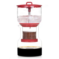 BRUER Slow Drip Cold Coffee Brewer Coffee Maker - Red