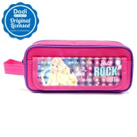 Pencil Case 1 Zipper Barbie Rock - PCBB151013