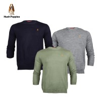 Hush Puppies Sweater Pria MH10518 Ziddy Crew | Available 6 Color