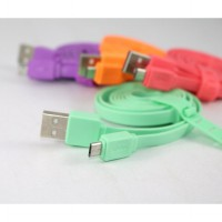 Data Cable CSM-100 Kabel Data Candy Micro USB 100cm for Mobile Phone   Kabel Charger Universal