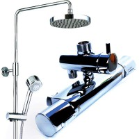 American Standard Rain Shower Hot&Cold Moon Shadow D200