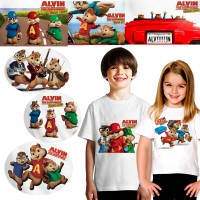 [KAOS ANAK] Kaos Alvin and The Chipmunks-HOT ITEMS!!!
