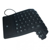 TC Keyboard Flexible Mini - USB - Hitam