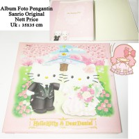 Album Foto Pengantin Hello Kitty Wedding Sanrio Original