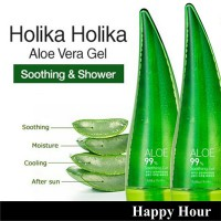 Holika Holika - Aloe 99% Soothing Gel Lidah Buaya 250mL