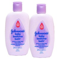 Johnson's Bedtime Bath 200ml isi 2pcs
