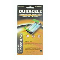 [poledit] Duracell iPhone 4/4s Screen Protector and Aluminum Faceplate - Retail Packaging /10939173
