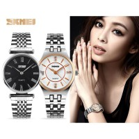 [Promo Ladies Stainless SKMEI Watch] Jam Tangan Wanita Water Resistant 50m