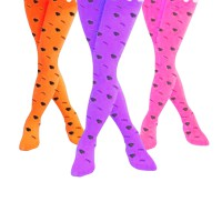 Stocking anak import motif Strawberry dan Polkadot