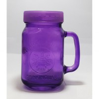 Mug Jar Harvest Colorful Jar Plus Tutup Plastik