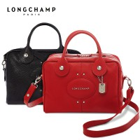 TAS WANITA AUTHENTIC LONGCHAMP LE PLIAGE QUADRI LEATHER