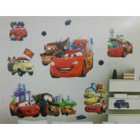 Wall Sticker | Wallsticker Cars (MC Queen) 3D 1
