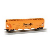 [poledit] Bachmann Trains Sante Fe (Orange) 56` Acf Center-Flow Hopper-Ho Scale (T1)/12059203