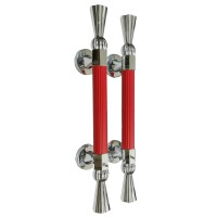 Pull Handle Bossini 2189 CP/Red + Ring