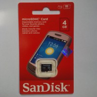 Micro SD Sandisk 4 GB SPEED 30 MB/s CLASS 6 (DIJAMIN ASLI)