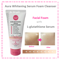 Cathy Doll Aura Whitening Serum Foam Cleanser 100g