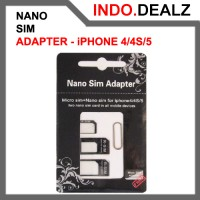 3 In 1 Nano Sim Card Adapter For Iphone 4 / 4 S / 5
