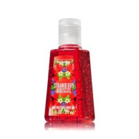 Bath & Body Works PocketBac Hand Sanitizer / Strawberry Hibiscus (Canadian Version) - Sealed