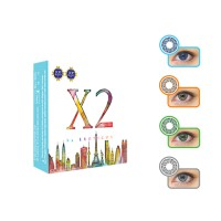 X2 CHIC Softlens by Exoticon (4 Pilihan Warna)