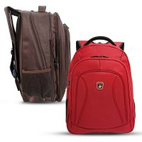 Real Polo Ransel Laptop 5875 Expandable [Free Bag Cover]