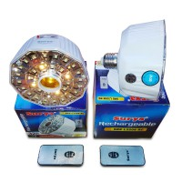 Surya Rechargeable Emergency LED Lamp SRE L3208 RC, Luby L-5612C, Surya SFT L2410 with Fan