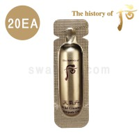 The history of whoo Cheongidan Wild Ginseng Ampoule Oil Sample 20pcs
