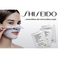 Shiseido White Mud Mask - Shiseido Blackhead Nose Remover Mask & Whitening 10 sachet