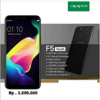OPPO F5 YOUTH 3/32GB RESMI OPPO FREE TONGSIS