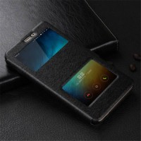 [globalbuy] Leather cover for Xiaomi Redmi note 4 note 4 pro Case With Phone With Window V/4056648
