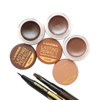 HOT PROMO!!! BUY 1 GET 1 EYEBROW PENCIL Landbis Eyebrow Gel + Eyeliner 1,2,3