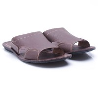 Dr.Kevin Leather Sandals 97178 Brown