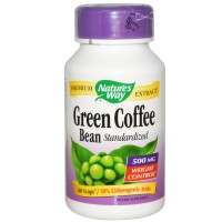 Natures Way Green Coffee Bean 500 mg - 60 kapsul (diet/weight loss)