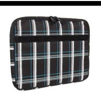 [holiczone] Hurley Laptop Sleeve Black Plaid (fits up to 13 laptop) HMSTAP107/86738