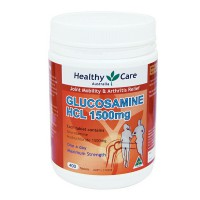Healthy Care Glucosamine HCL 1500 mg - 400 Tablet