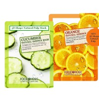 (10pcs) Food A Holic 3D Face Mask Specialists