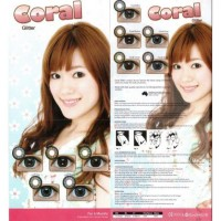 Softlens Coral Glitter