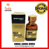 GOLD RUSH POPPERS ORI 30 ml