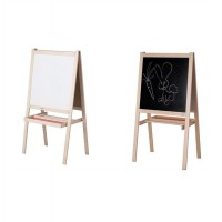 IKEA (R) - MALA Papan 2 Sisi: Whiteboard and Blackboard Foldable Dapat Dilipat (Art Supplies)