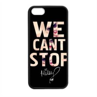 [globalbuy] WE CANT STOP Miley Cyrus Plastic Mobile Phone Protective Case Cover Skin for i/3290460