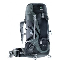 Deuter Tas Ransel Carrier Outdoor ACT LITE 40+10 SL Black-Granite Original
