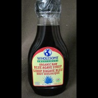 Wholesome Sweetener - Organic Raw Blue Agave Syrup - 333 gr