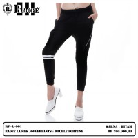RAOFE LADIES JOGGER PANTS : DOUBLE FORTUNE CELANA PANJANG WANITA