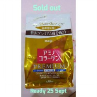 Meiji Amino Premium Collagen Gold ori JAPAN