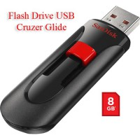 Sandisk FLASH DRIVE USB CRUZER GLIDE  8GB Original