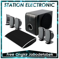 Polytron PHT 175 Home Theater System 5.1 Ch Black | FREE PENGIRIMAN JABODETABEK