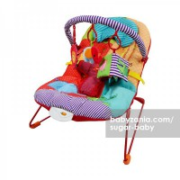 Sugar Baby Deluxe Musical Vibration Bouncer 1 Recline - Happy Zoo